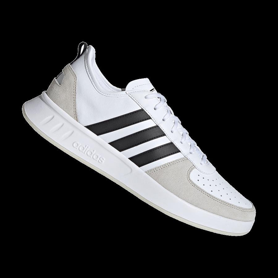adidas 80s Court Freizeitschuh weißschwarz m0nwN8v