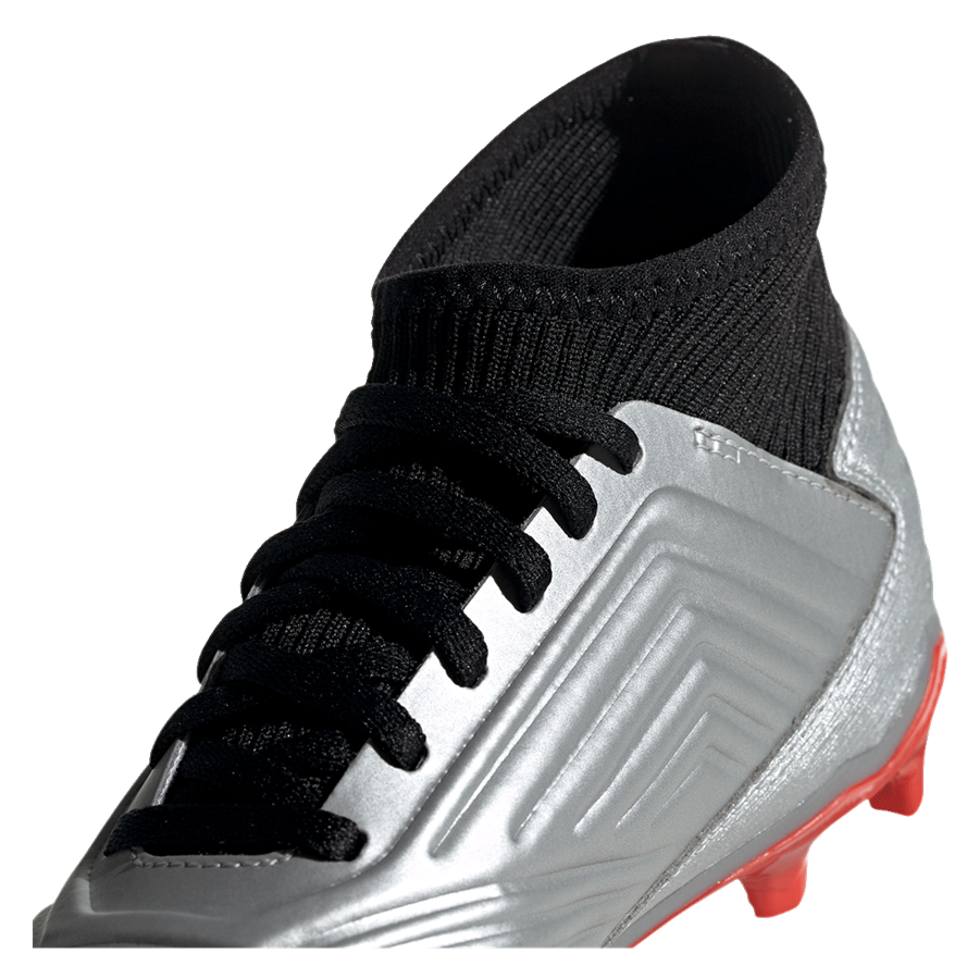 adidas Kinder Fußballschuh Predator 19.3 FG J silber/schwarz Bild 8