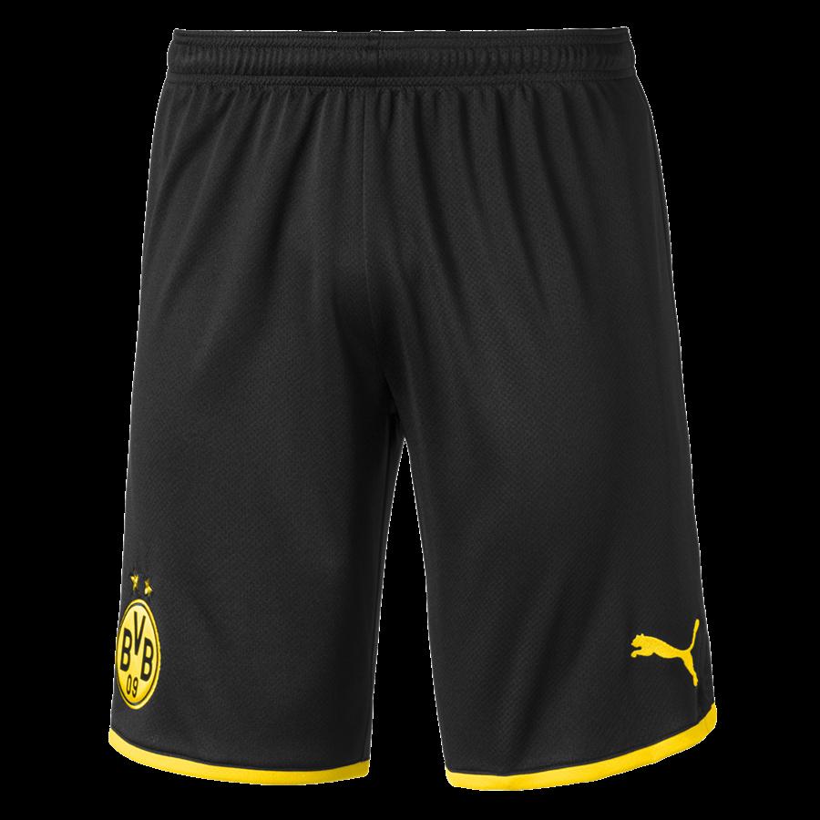 Puma BVB Herren Short 201920 schwarzgelb