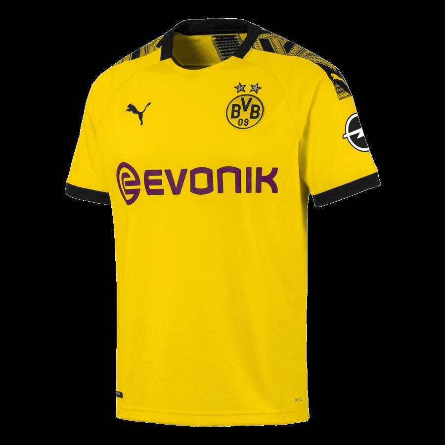Puma BVB Herren Heim Trikot 2019/20 gelb/schwarz Bild 2