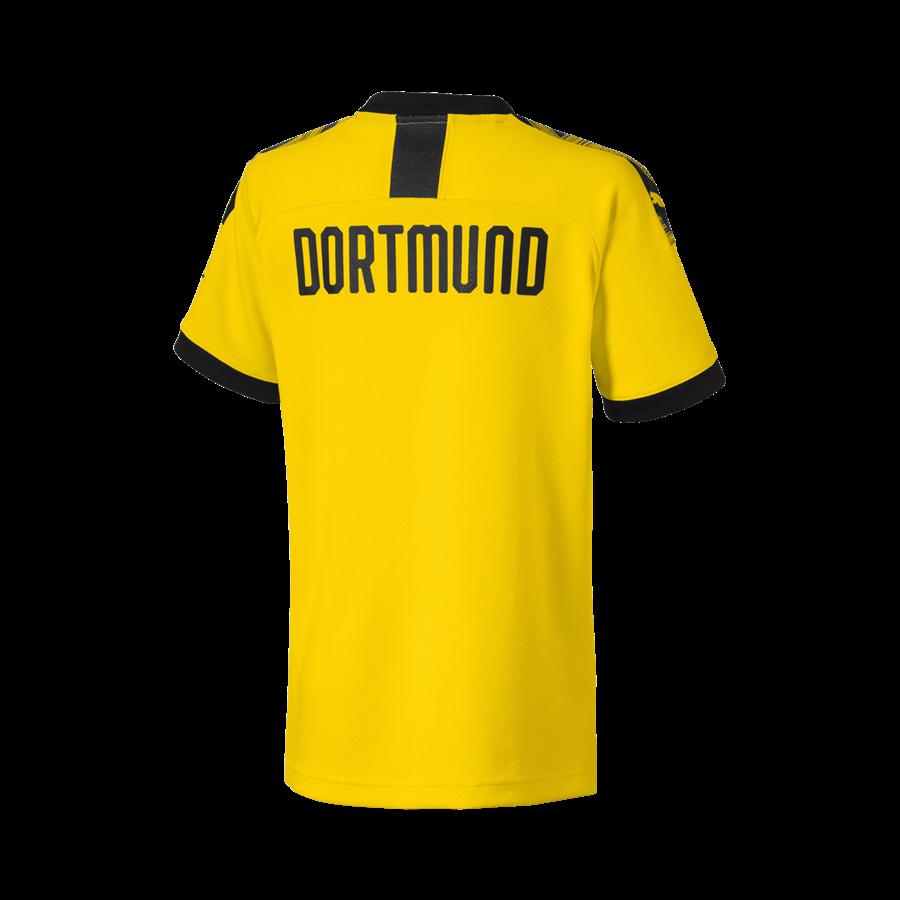 Puma BVB Kinder Heim Trikot 2019/20 gelb/schwarz Bild 3