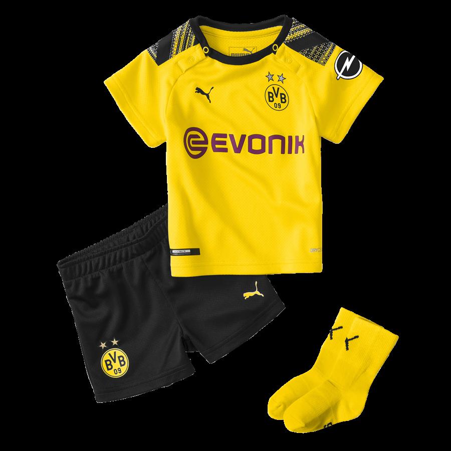 Puma BVB Baby Heim Kit 2019/20 gelb/schwarz Bild 2