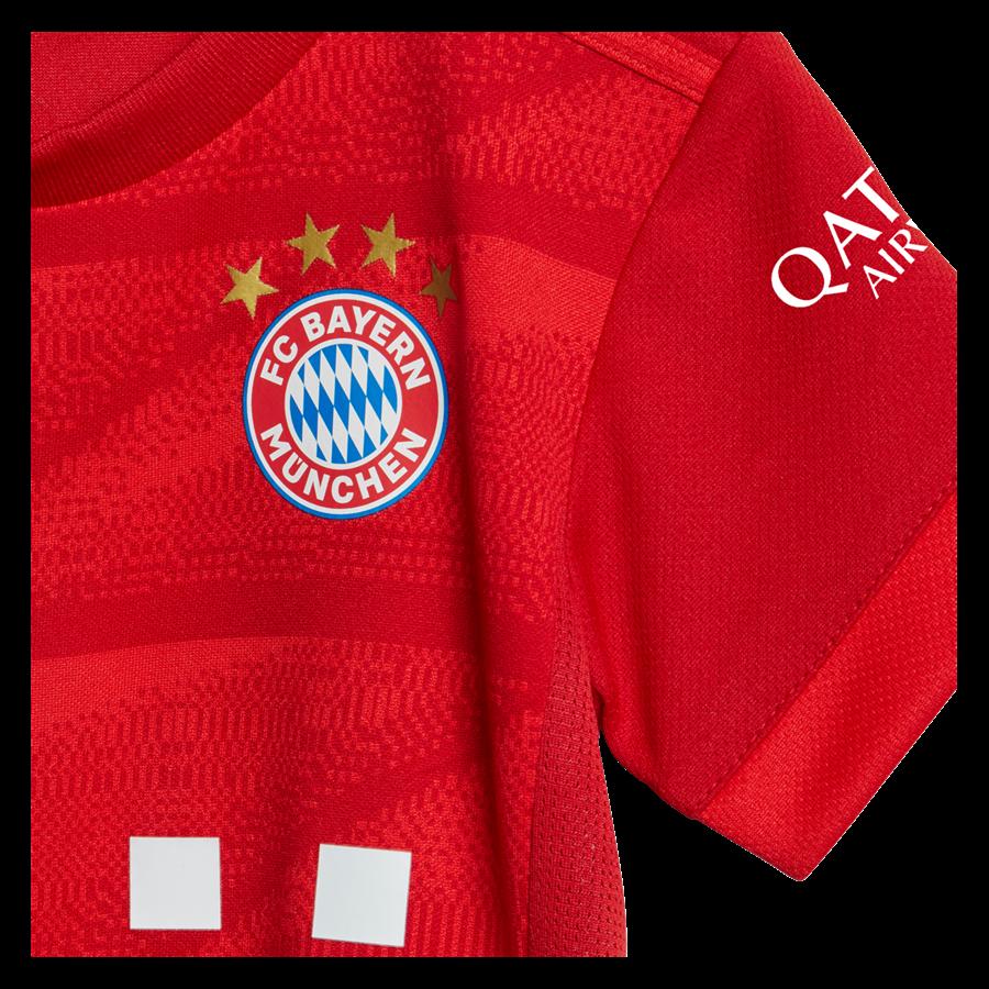 adidas FC Bayern München Baby Heim Kit 2019/20 rot/weiß Bild 7