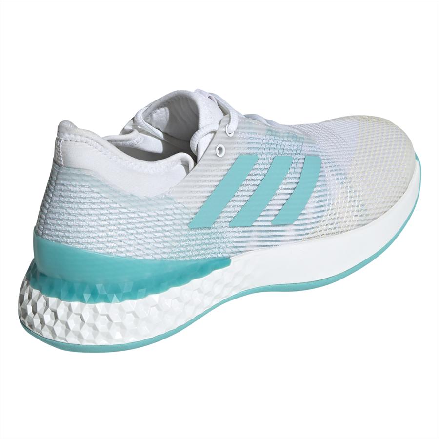 adidas Schuh adizero ubersonic III X Parley weiß/türkis Bild 10