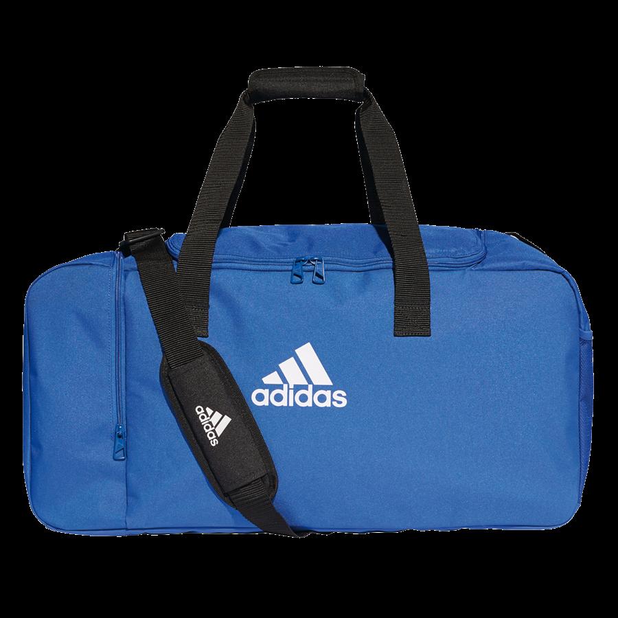adidas Sporttasche Tiro Duffelbag M blau/weiß Bild 2