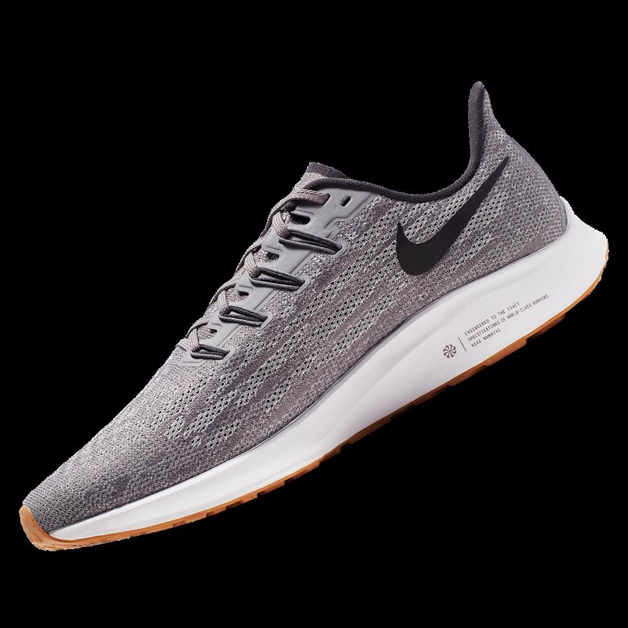 Nike Laufschuh Air Zoom Pegasus 36 grau/schwarz Bild 3