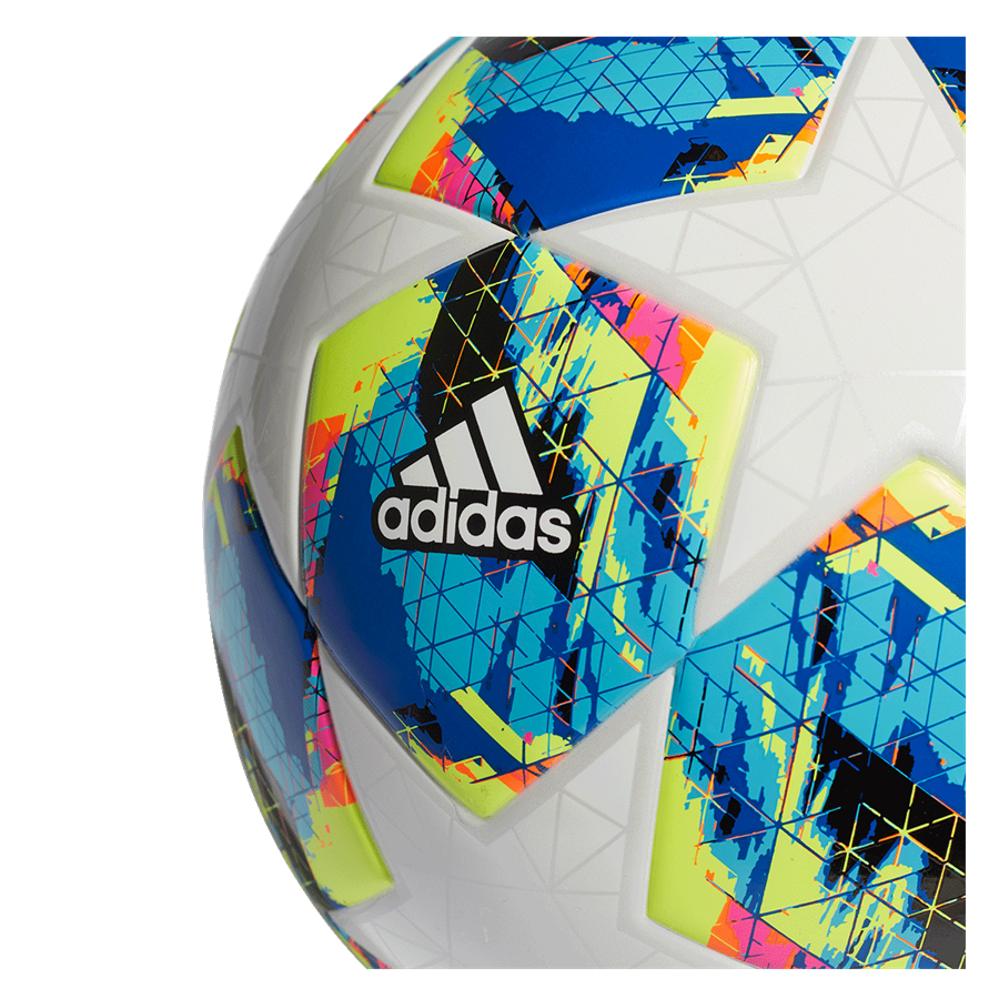 adidas Fußball Champions League Finale 2019 Top Training Junior 350G Größe 5 weiß/cyan