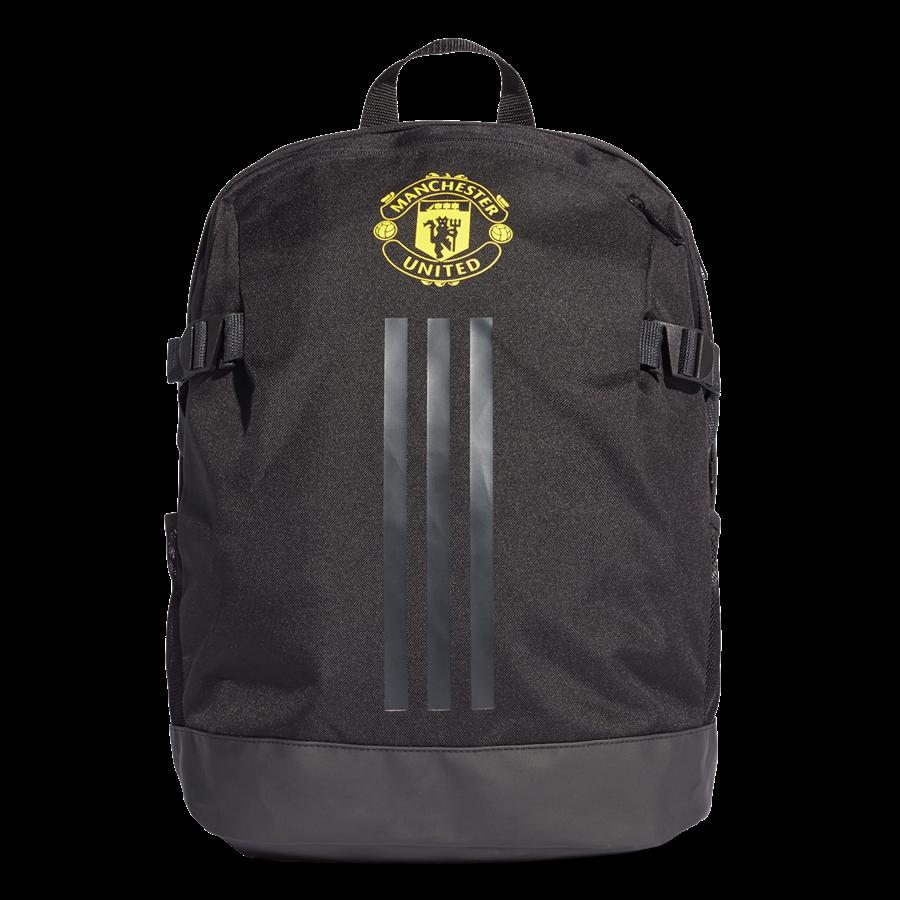 adidas Manchester United Rucksack Backpack schwarz/gelb Bild 2