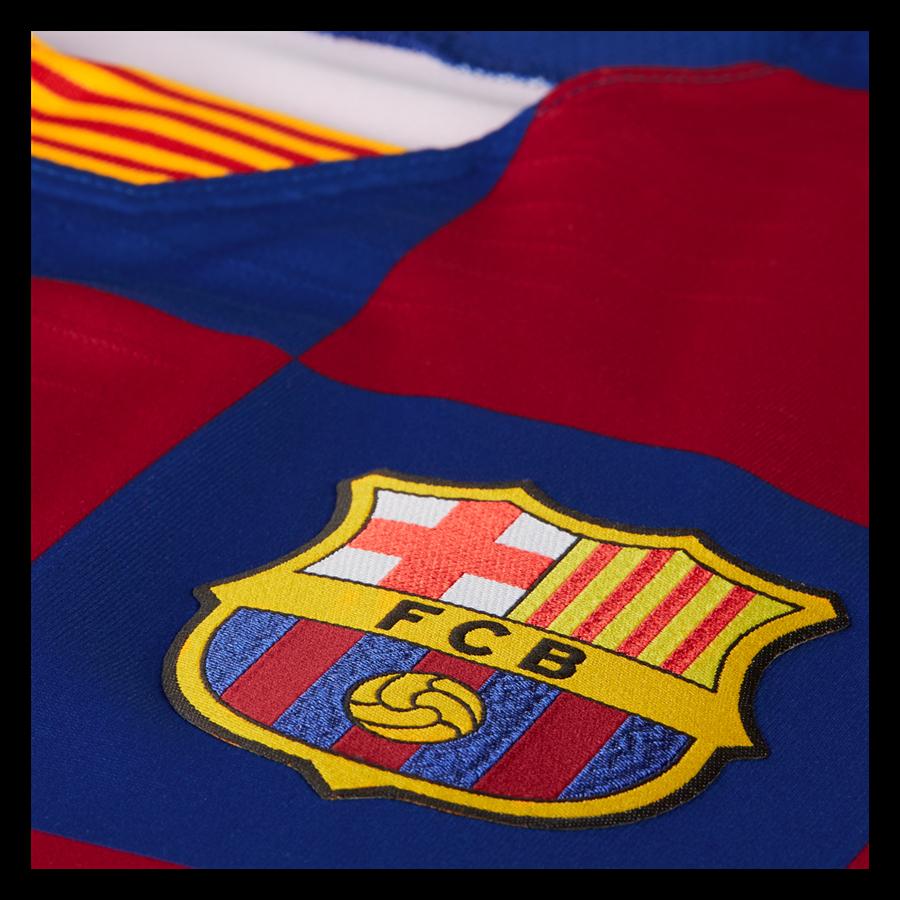 Nike FC Barcelona heren thuisshirt authentiek 2019/20 blauw/rood Afbeelding 4