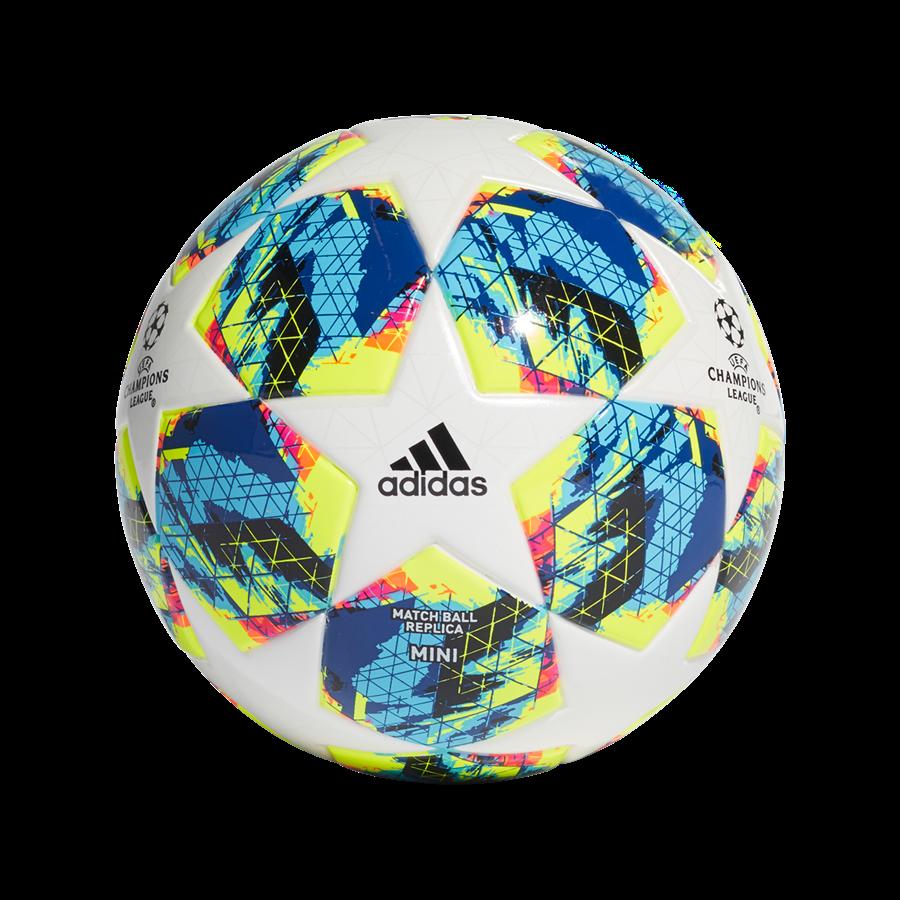 adidas Fußball Champions League Finale 2019 Mini Größe 1 weiß/cyan Bild 2