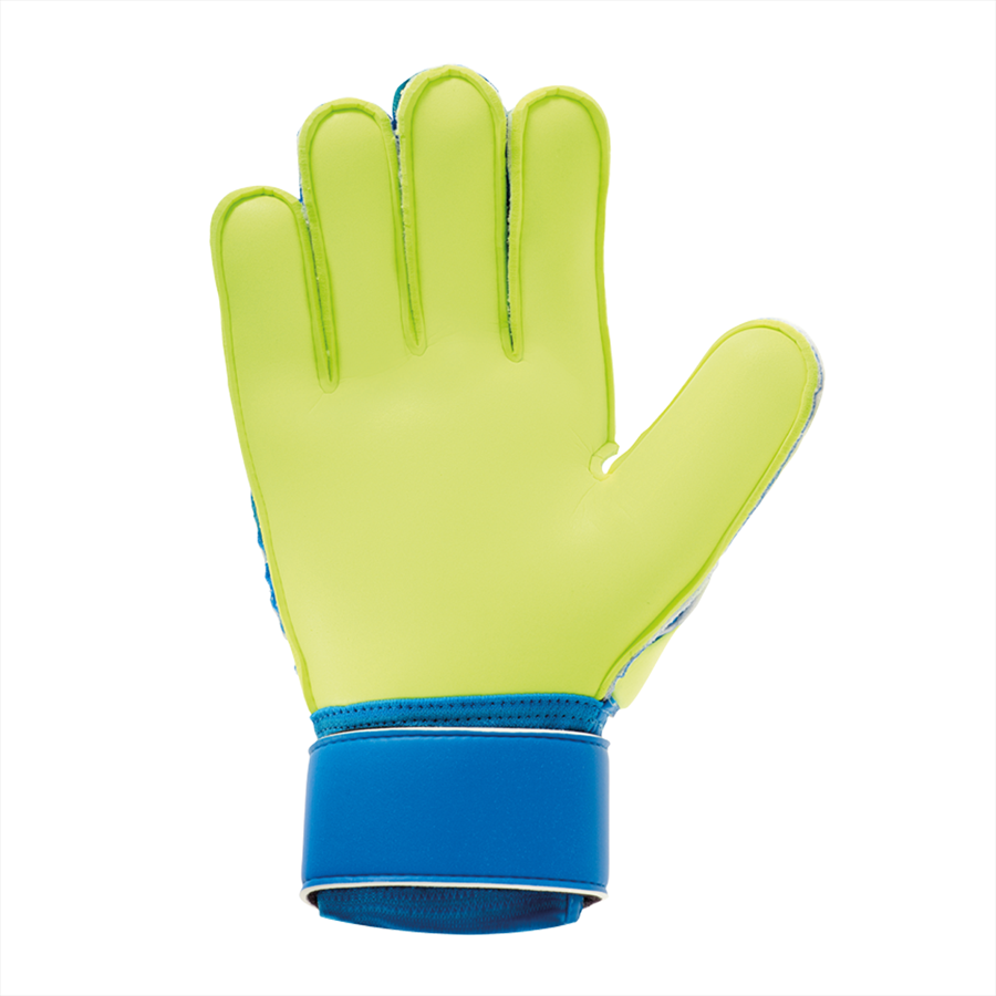 Uhlsport Kinder Torwarthandschuhe Radar Control Soft SF Junior blau/gelb fluo Bild 3