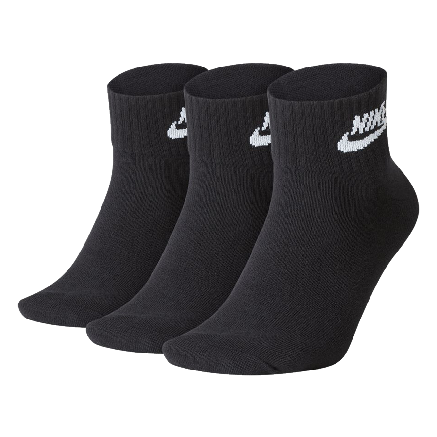 Nike Socken Sportswear Everyday Essential Ankle schwarz/weiß