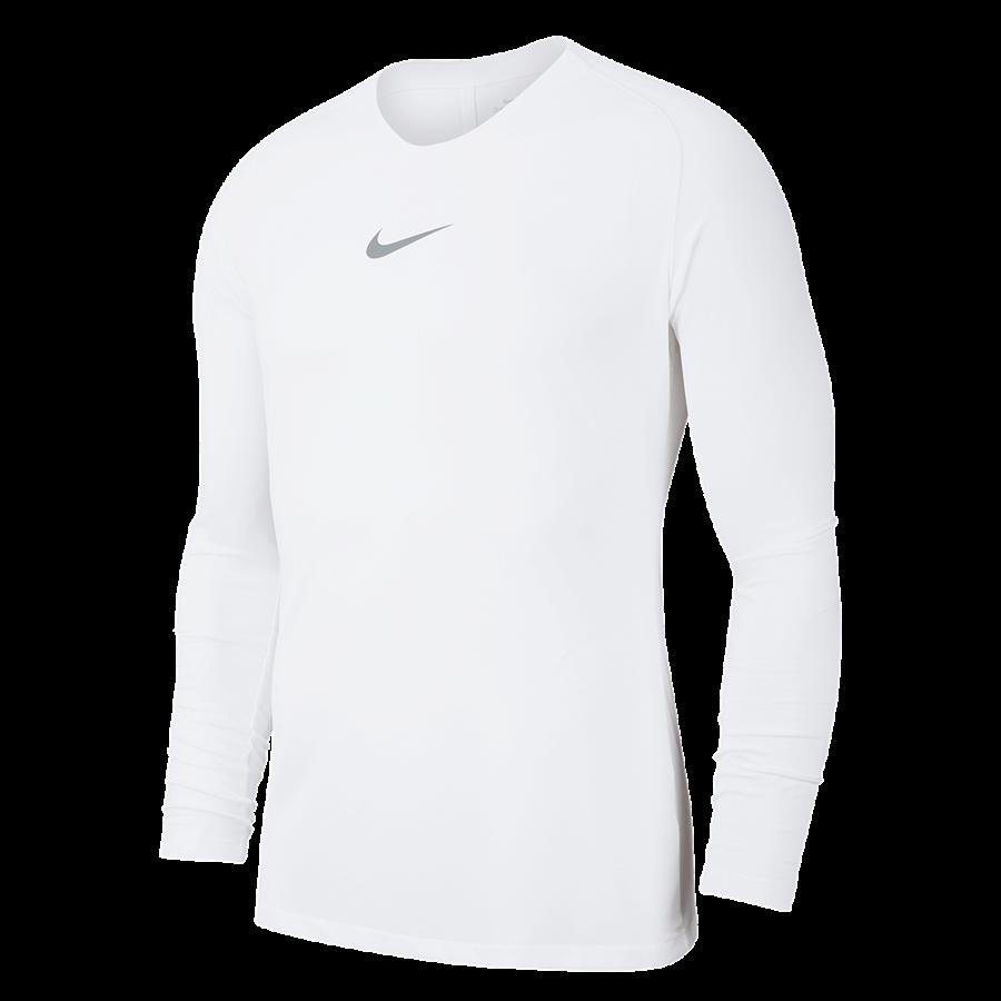 Nike Langarm Funktionsshirt Park First Layer weiß/grau Bild 2