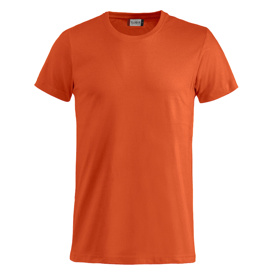 Clique Shirt Basic-T orange Bild 2