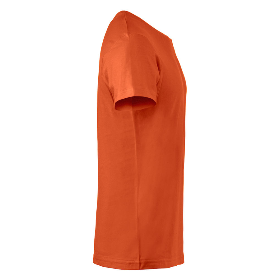 Clique Shirt Basic-T orange Bild 4