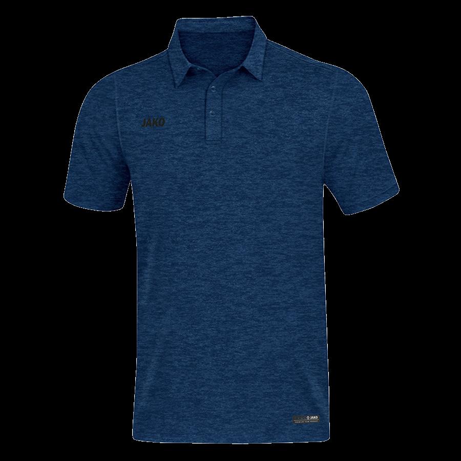 Jako Poloshirt Premium Basics dunkelblau/schwarz Bild 2