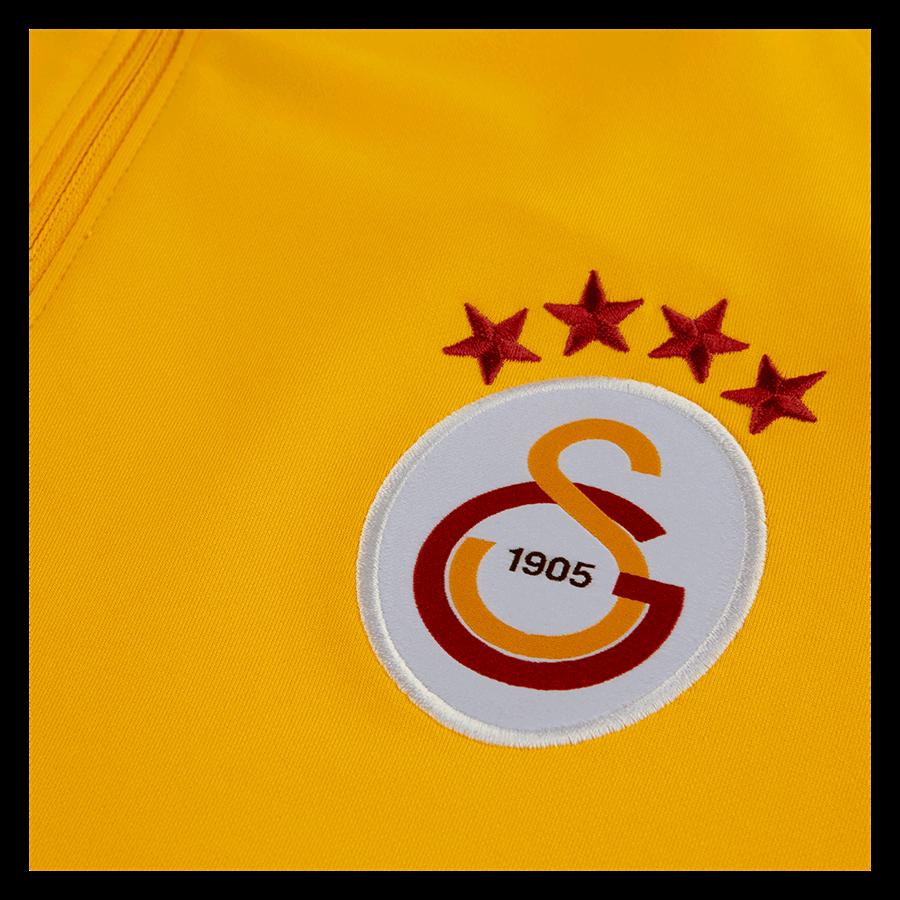 Nike Galatasaray Istanbul Trainingsoberteil Strike Drill Top gelborange/rot Bild 4