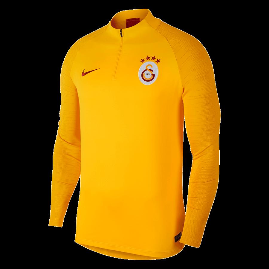 Nike Galatasaray Istanbul Trainingsoberteil Strike Drill Top gelborange/rot Bild 2