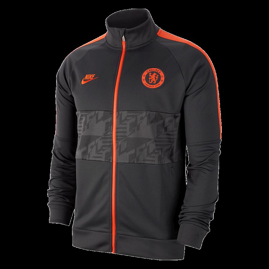 Nike Chelsea FC Fanjacke I96 CL Jacket anthrazit/orange Bild 2