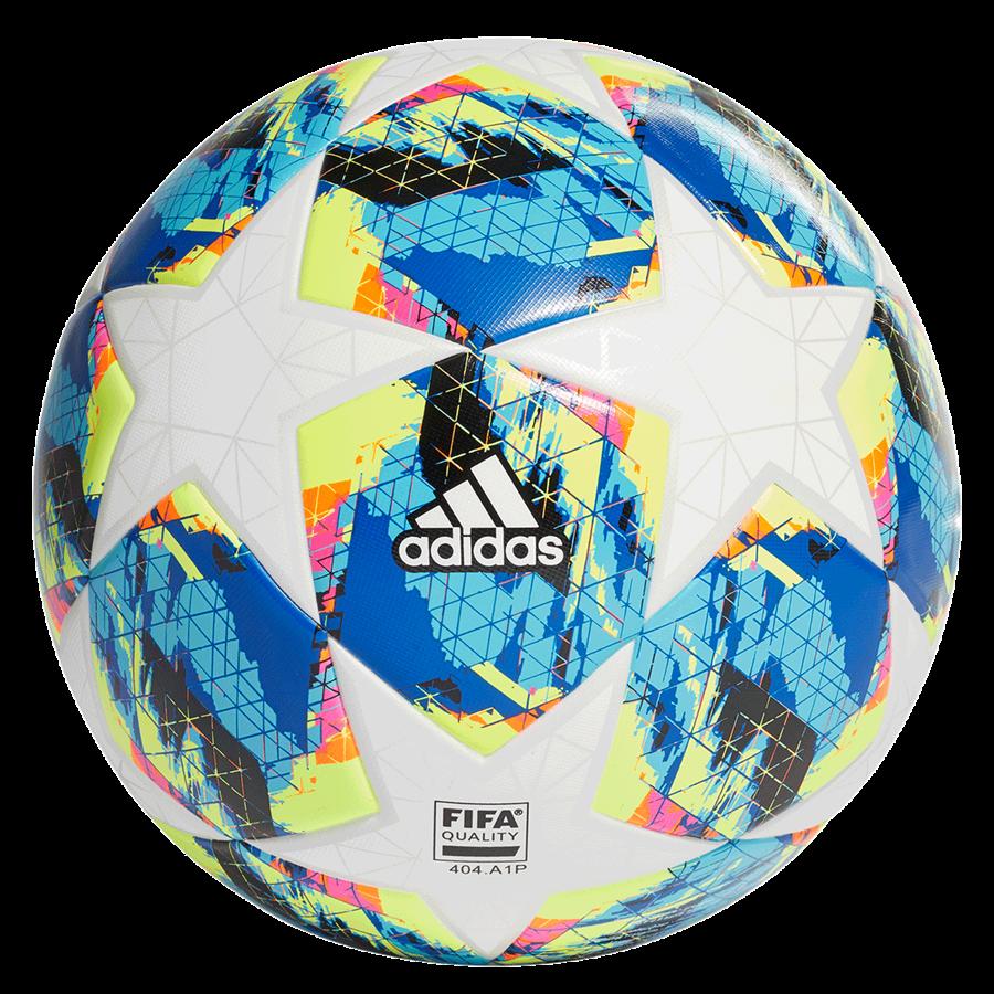 adidas Fußball Champions League Finale 2019 Top Training Größe 5 weiß/cyan Bild 3