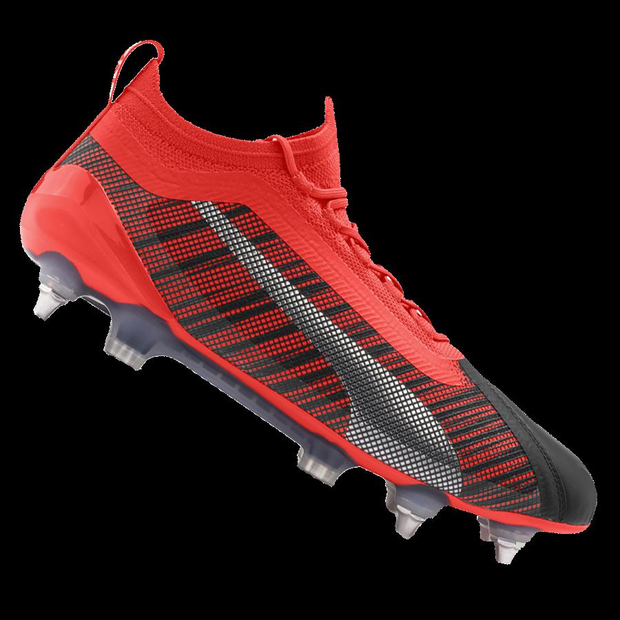 Puma Fußballschuh One 5.1 Mx SG orange/grau Bild 2