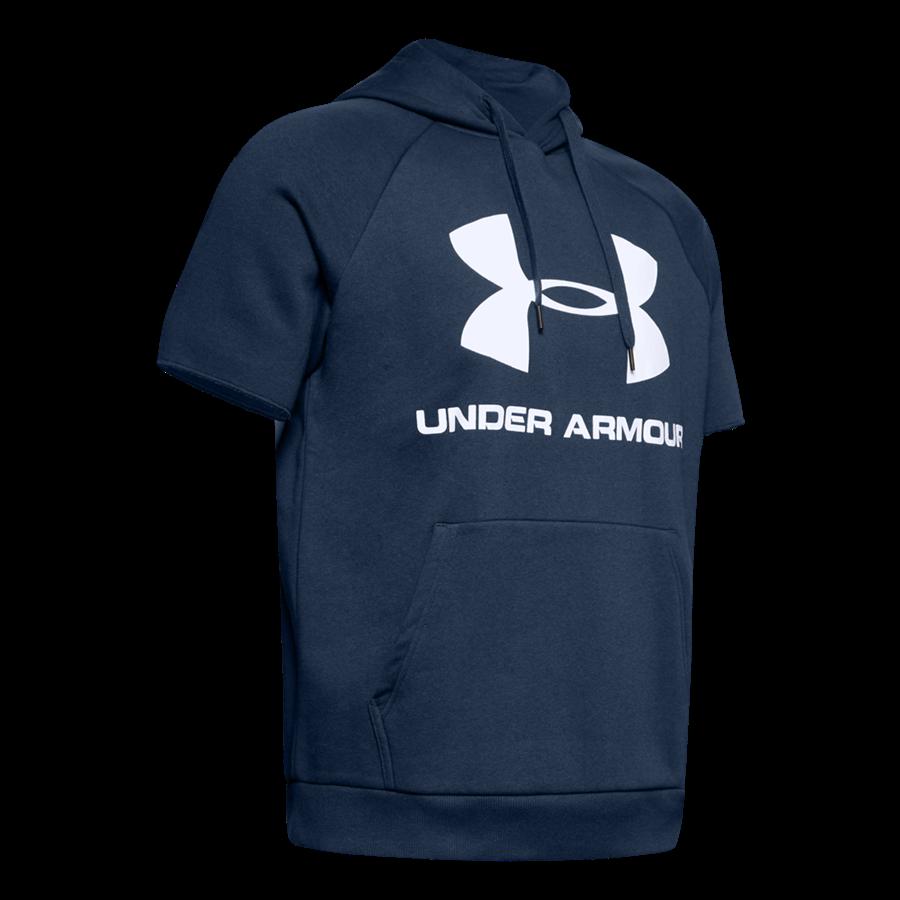 Under Armour Kapuzenshirt Sportstyle Logo Hoody dunkelblau/weiß Bild 2