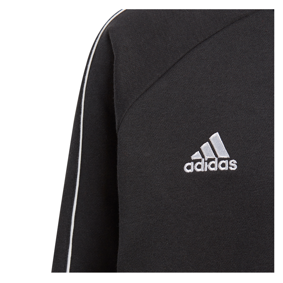 adidas Kinder Trainingspullover Core 18 Sweat Top schwarz/weiß Bild 4