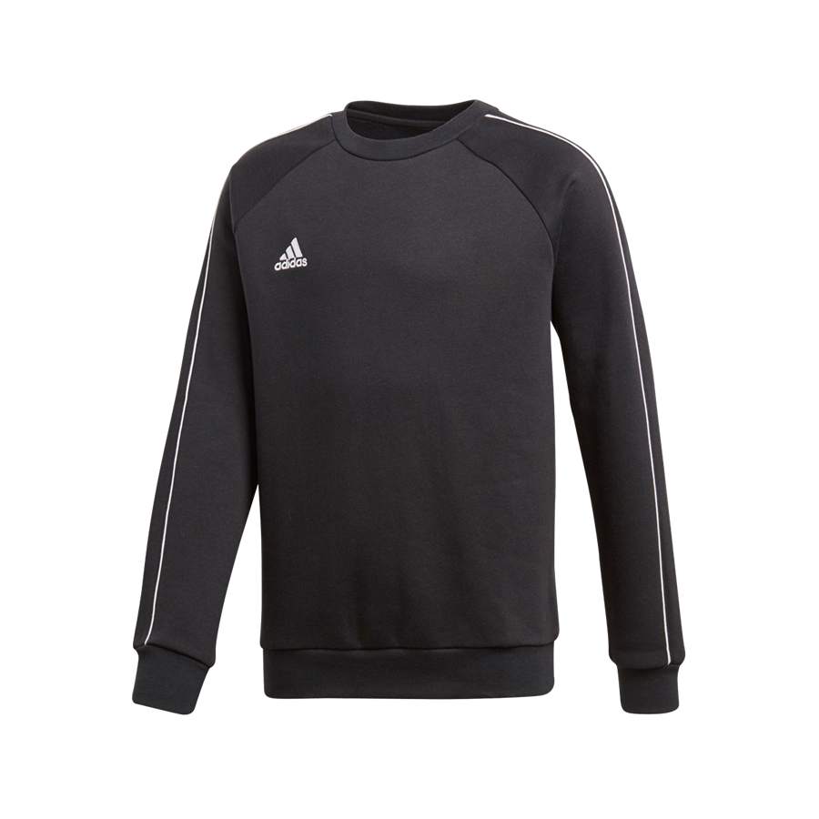 adidas Kinder Trainingspullover Core 18 Sweat Top schwarz/weiß Bild 2