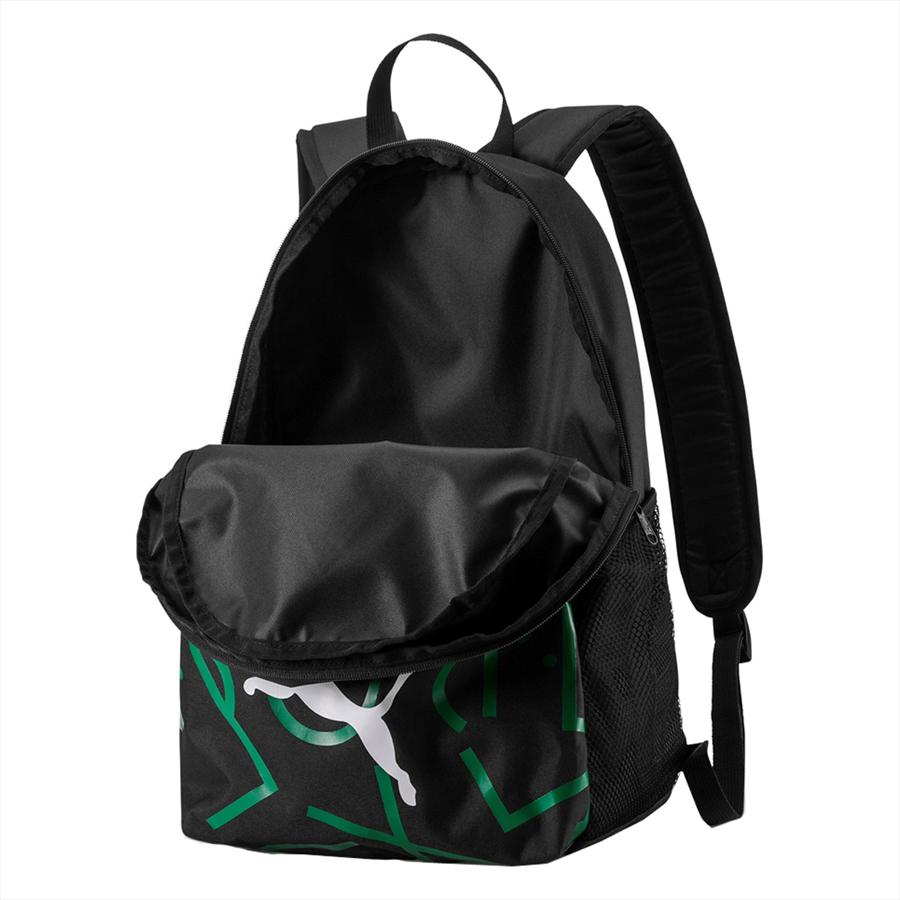 Puma Borussia Mönchengladbach Rucksack DNA Backpack schwarz/grün Bild 4