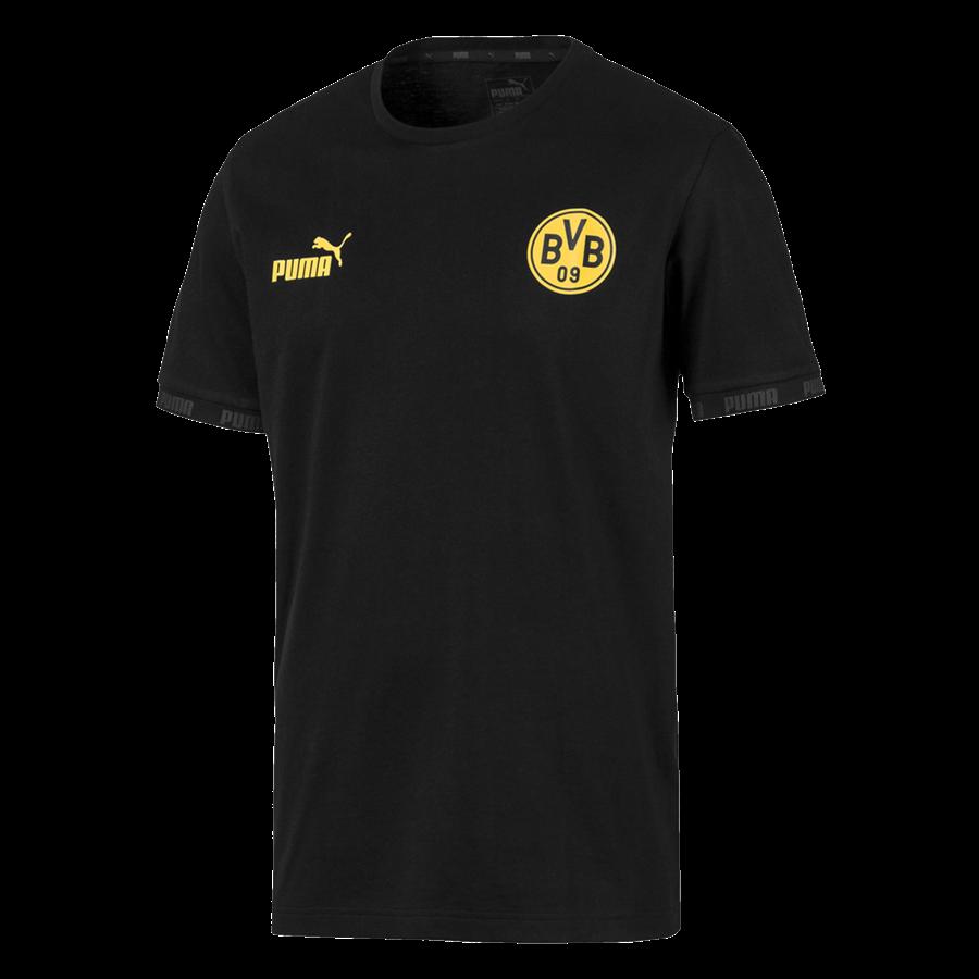 Puma BVB Fanshirt Ftbl Culture Tee schwarz/gelb Bild 2