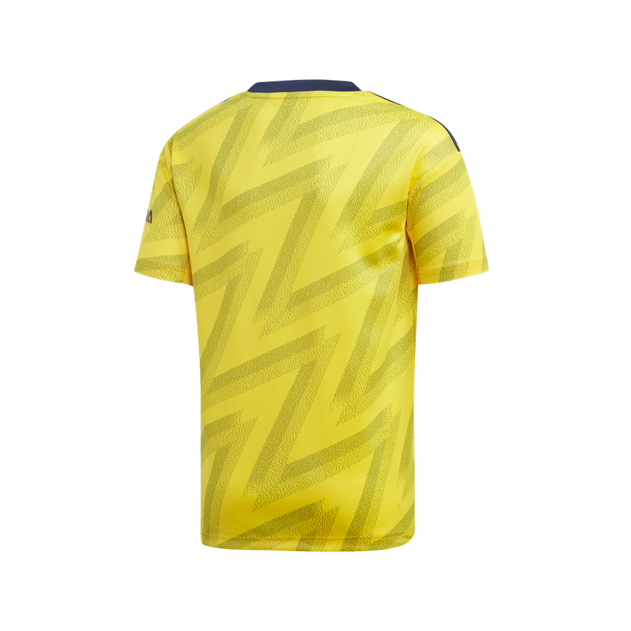 adidas FC Arsenal Kinder Auswärts Trikot 2019/20 gelb/schwarz Bild 3