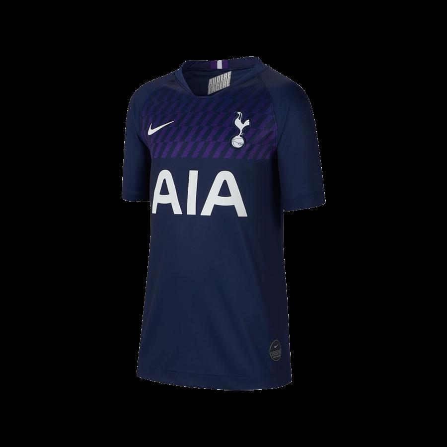 Nike Tottenham Hotspur Kinder Auswärts Trikot 2019/20 dunkelblau/weiß Bild 2