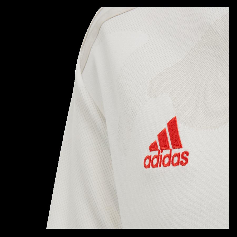 adidas Juventus Turin Kinder Auswärts Trikot 2019/20 weiß/rot Bild 4