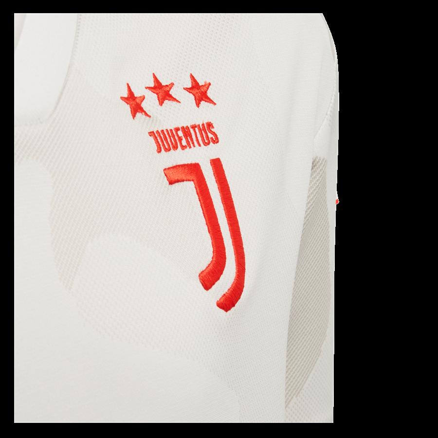 adidas Juventus Turin Herren Auswärts Trikot 2019/20 weiß/rot Bild 4