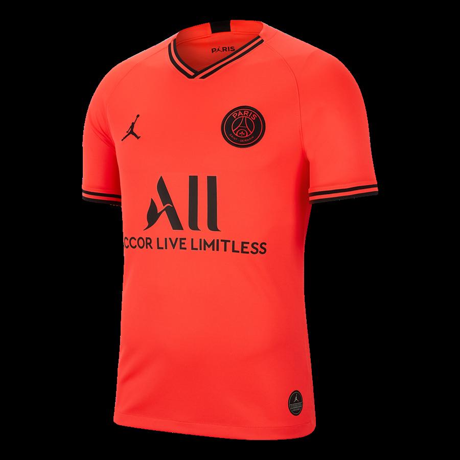 Nike Paris St. Germain Herren Auswärts Trikot 2019/20 rot/schwarz Bild 2