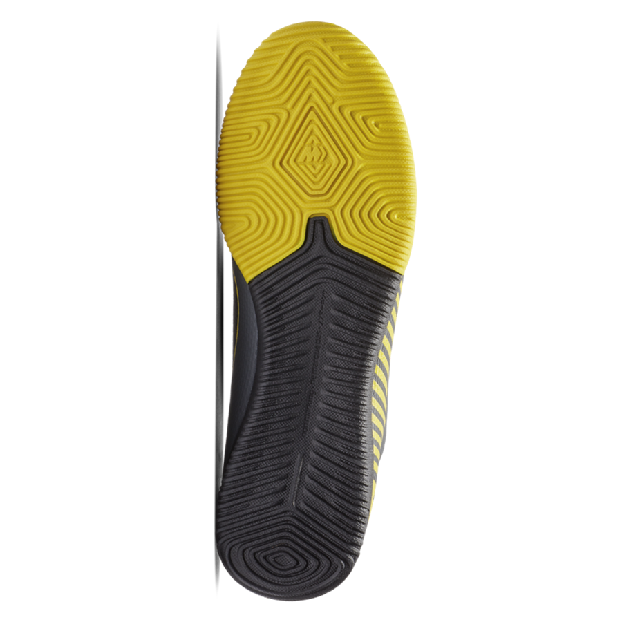 Nike Hallenschuh Mercurial VaporX XII Academy IC dunkelgrau/gelb Bild 5