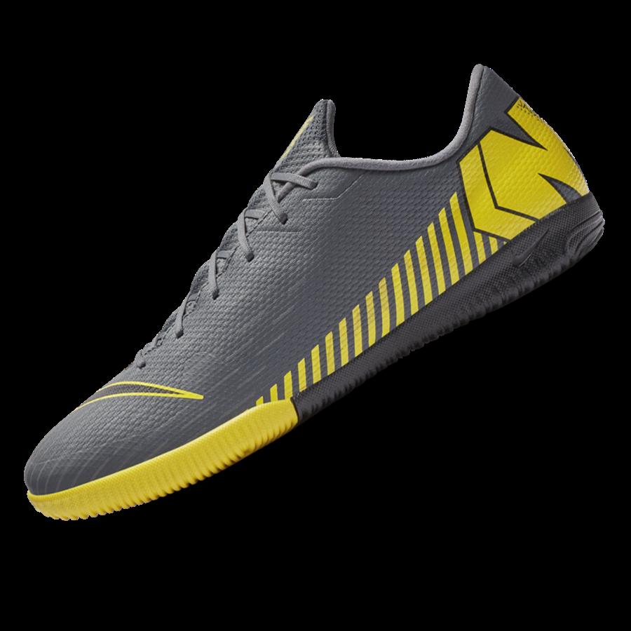 Nike Hallenschuh Mercurial VaporX XII Academy IC dunkelgrau/gelb Bild 3