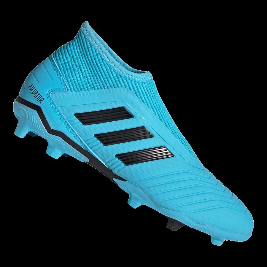 adidas Kinder Fußballschuh Predator 19.3 LL FG J hellblau/schwarz Bild 2