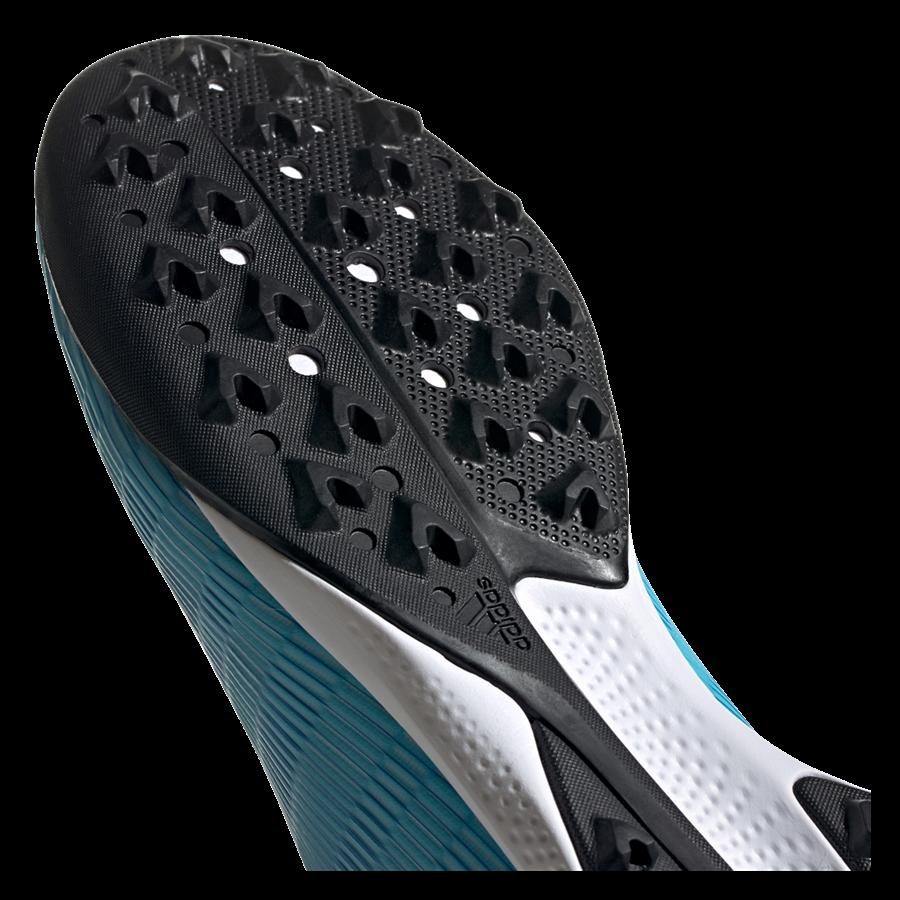 adidas Fußballschuh X 19.3 LL TF Kunstrasen hellblau/weiß Bild 6