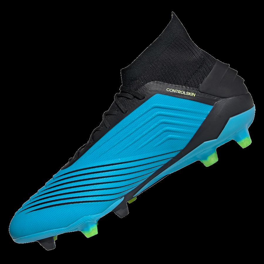adidas Fußballschuh Predator 19.1 FG hellblau/schwarz Bild 3