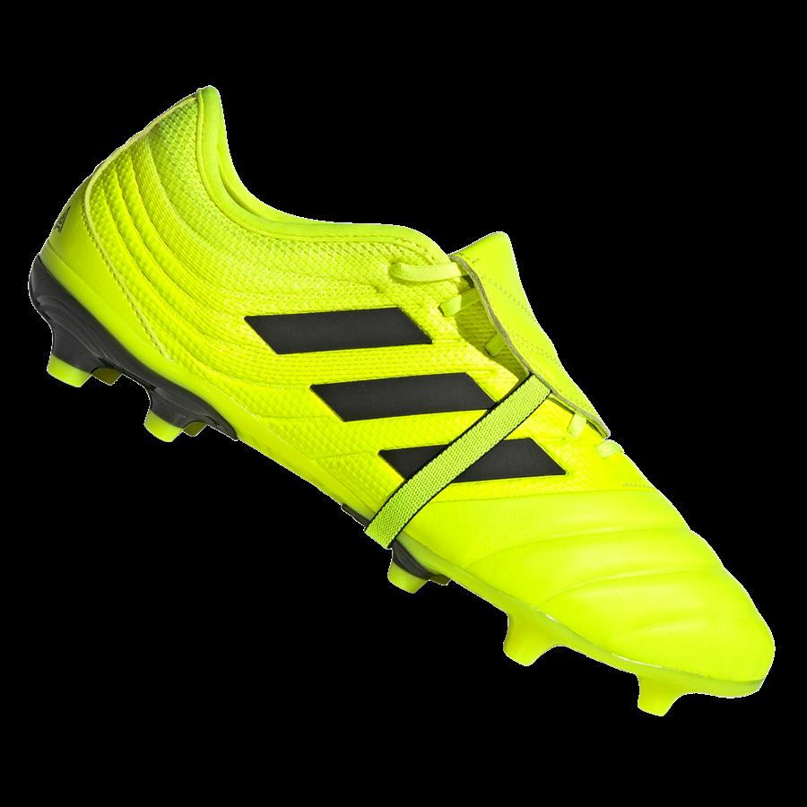 adidas Fußballschuh Copa Gloro 19.2 FG gelb fluo/schwarz Bild 2