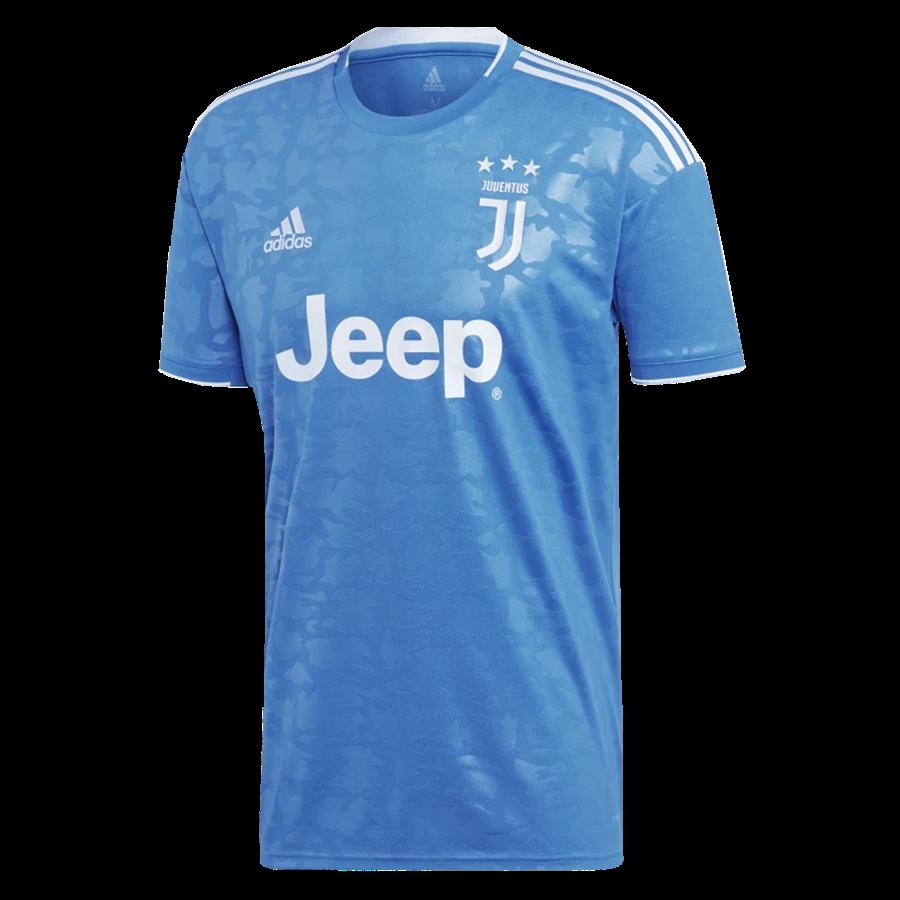adidas Juventus Turin Herren Champions League Trikot 2019/20 hellblau/weiß Bild 2