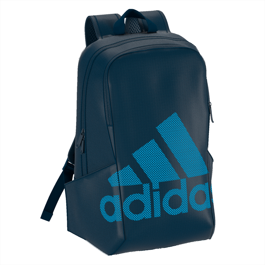adidas Rucksack Parkhood Badge of Sport Backpack dunkelblau/blau Bild 4