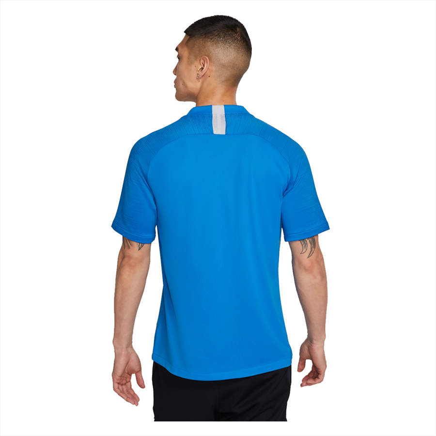 Nike Trainingsshirt Breathe Strike Top blau/weiß Bild 3