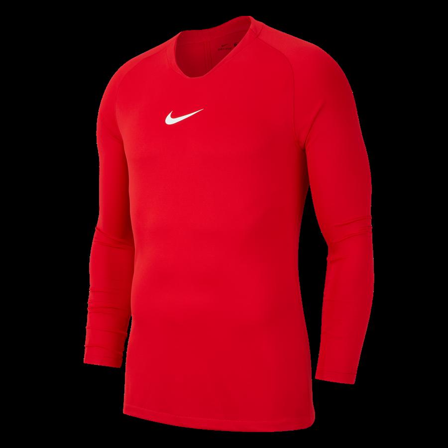 Nike Langarm Funktionsshirt Park First Layer rot/weiß Bild 2