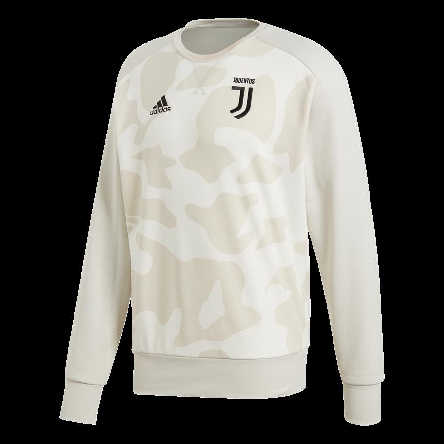 adidas Juventus Turin Trainingspullover S Special Crew Sweat beige/weiß Bild 2