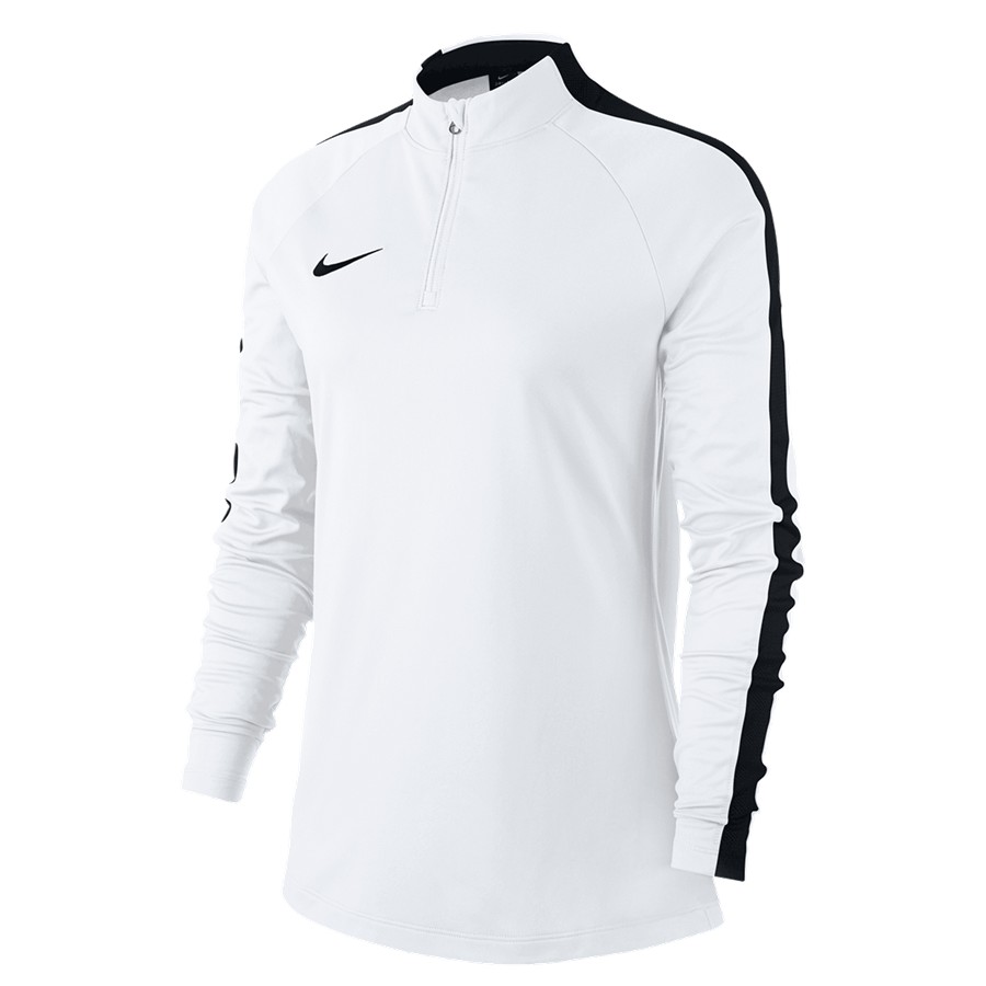 Nike Damen Trainingsoberteil Academy 18 Drill Top 1/4 Zip LS weiß/schwarz Bild 2