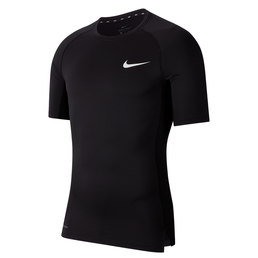 Nike Funktionsshirt Tight Top schwarz/weiß