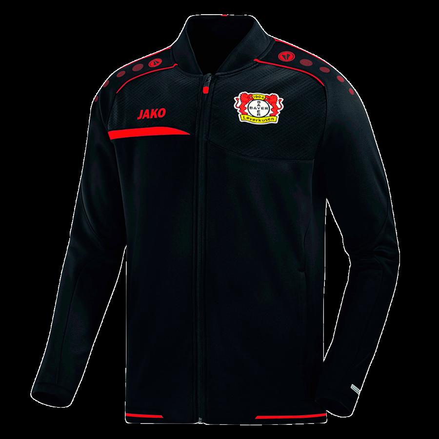 Jako Bayer 04 Leverkusen Einlaufjacke schwarz/rot Bild 2