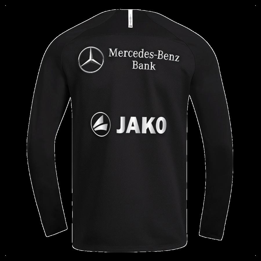 Jako VfB Stuttgart Trainingspullover Teamline Sweat schwarz/weiß Bild 3